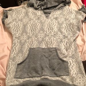 Extremely comfortable tunic with hoodie.